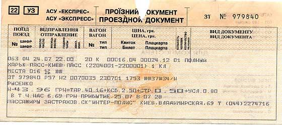наличие жд билетов: